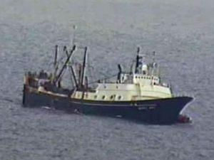 F/V Alaska Juris sinking