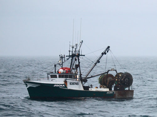 F/V Jocka Disabled (credit: U.S. Coast Guard)