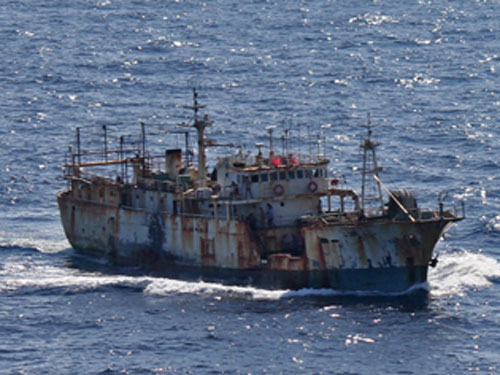 IUU fishing vessel
