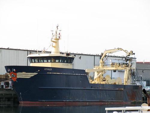 F/V Voyager pelagic trawler - Gloucester MA