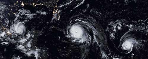 hurricanes Irma, Katia, Jose