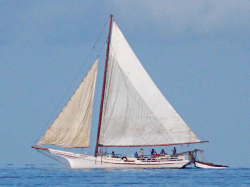 chesapeake bay skipjack sailboat
