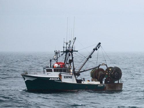 F/V Jocka Disabled (credit: U.S. Coast Guard)
