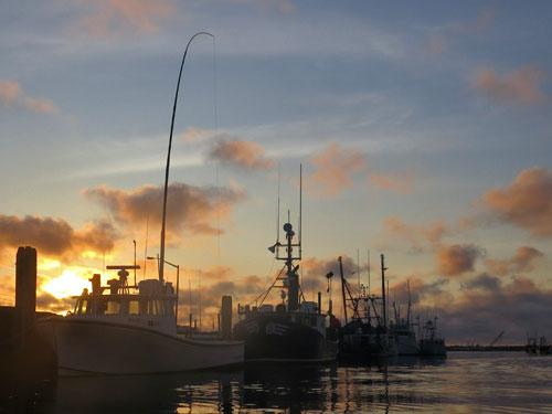 harbor-sunrise