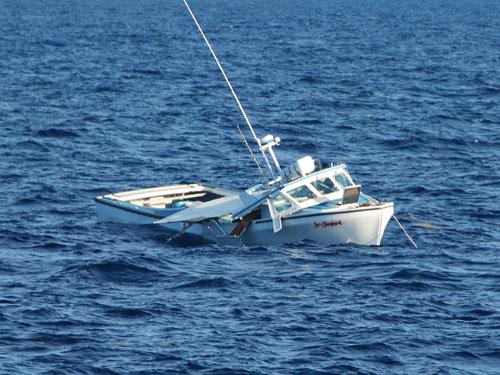 Sea Shepard Sinking  (credit: U.S. Coast Guard)