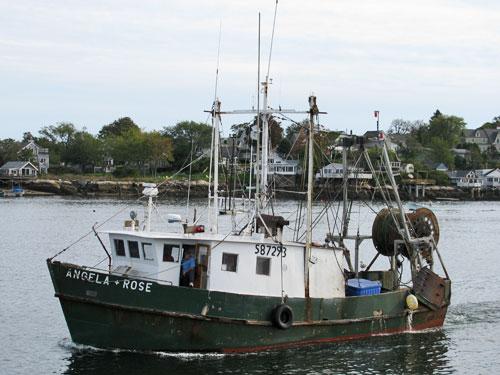 F/V Angela Rose - Gloucester MA Trawler