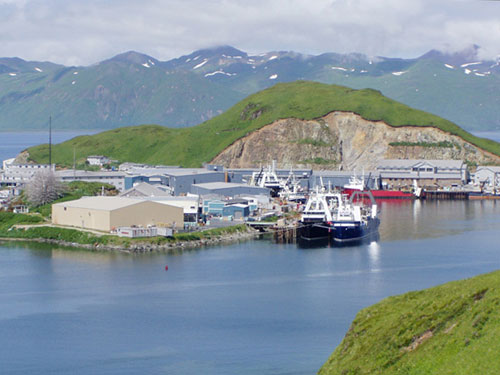 Dutch Harbor Alaska ((photo credit: NOAA)