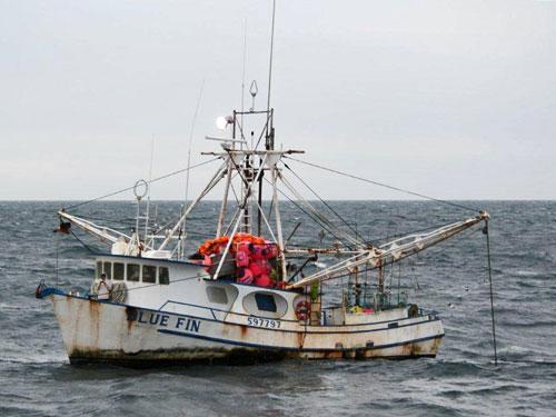 F/V Blue Fin mechanical failure (credit U.S. Coast Guard)