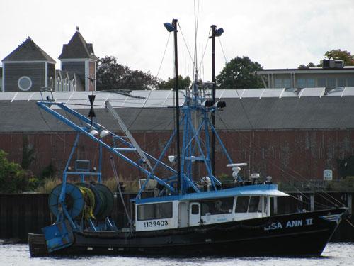 F/V Lisa Ann II - Gloucester MA Trawler