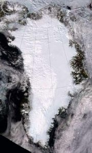 greenland satellite image
