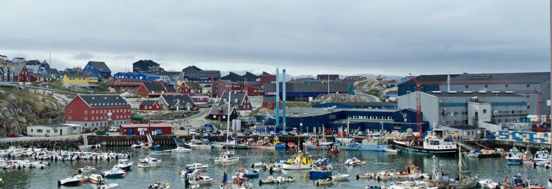 port of Ilulissat greenland