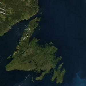 Island of Newfoundland Canada