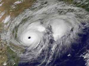 Hurricane Harvey landfall